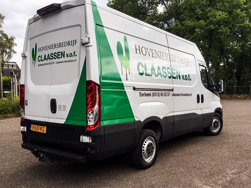 Claassen Hoveniers bus